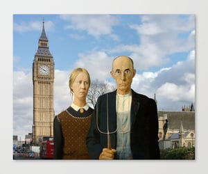 american gothic, funny art, and london image