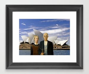 american gothic, art, and Sydney image