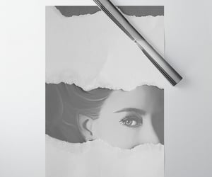 wrapping paper, british royalty, and princess margaret image