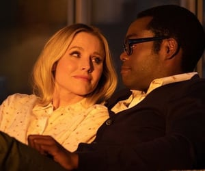 aesthetic, kristen bell, and couple image