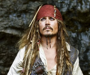 actor, johnny depp, and jack sparrow image