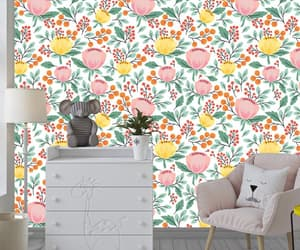 etsy, floral print, and wallpapers image