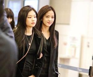 jennie kim, kim jisoo, and jisoo image