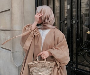 beige, camel, and chic image