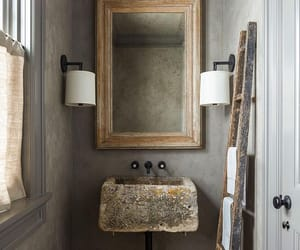 interior and powder room image