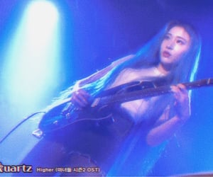 band, guitar, and korean image