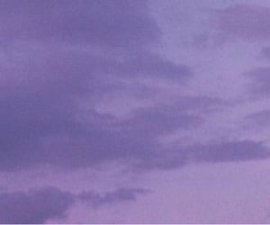 aesthetic, cloud, and lavender image
