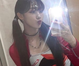 giselle, kpop, and mirror image