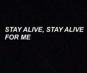 alive, for me, and I Love You image