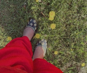 flowers, brown girls, and red image