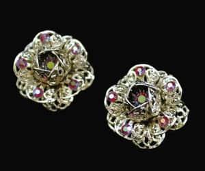 aurora borealis, etsy, and flower earrings image