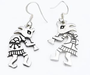Cherokee, native american, and drop earrings image