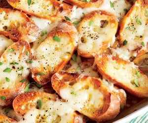 cheesy, cooking, and crispy image