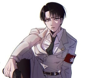 anime, levi, and attack on titans image
