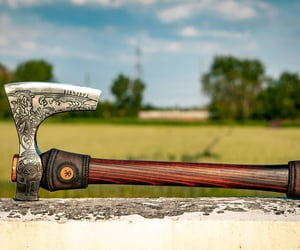 celtic, axe, and norse image