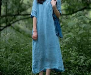 summer dress, kaftan, and loose fitting dress image