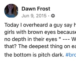 brown, eyes, and positivity image