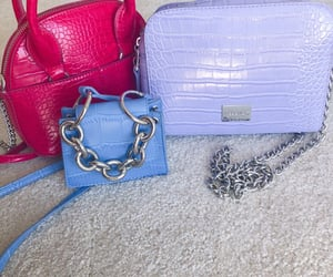 bags, pastels, and style image