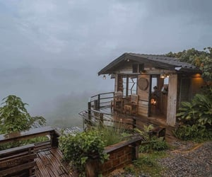 awesome and cabin image