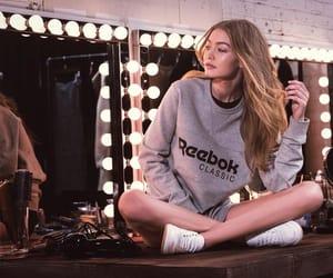 fashion, reebok, and sweatshirt image