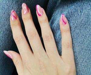 nail polish, nail art, and nails image