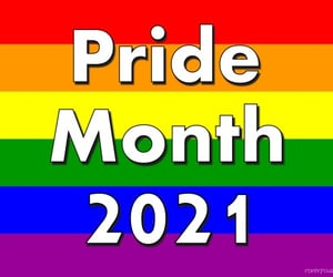 21, pride, and pride month image