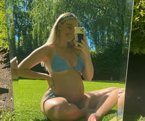perrie edwards, pregnant, and little mix image