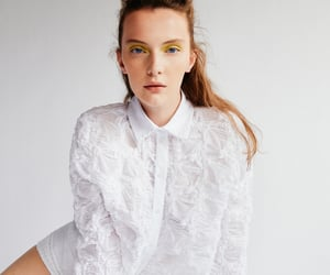 editorial, model, and fashion image