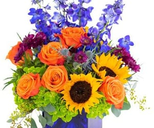 florist, flowers, and flower delivery image
