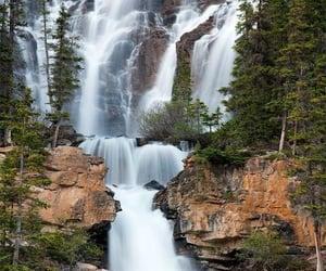 Tangle Fall, Jasper National Park, Alberta, Canada.