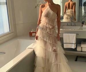 fashion, bella hadid, and dress image