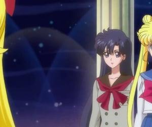 sailor moon and minako aino image