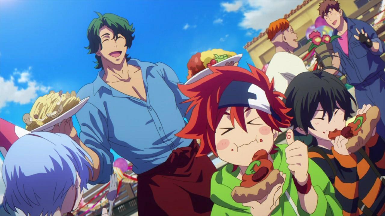 anime, joe, and miya image