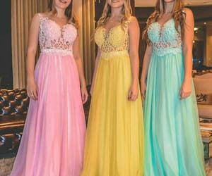 evening gown, robe de soirée, and vestido de fiesta image
