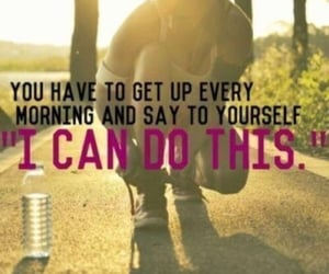 discipline, i can do this, and fitness image