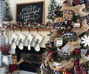 christmas, theme, and background image