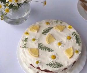 aesthetic, cake, and lemon image