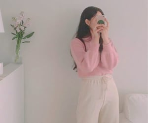 aesthetic, milk, and outfit image