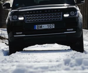 car, range rover, and wallpaper image