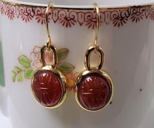 earrings, birthday gift, and gemstone image