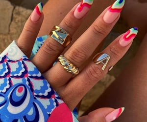 fashion, jewelry, and nails design image