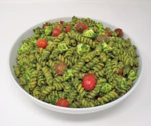 Spinach Pesto Pasta Salad