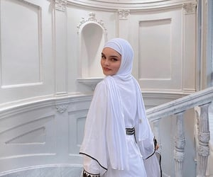 asian, muslim, and white image