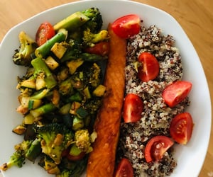 greens, healthy, and healthy food image