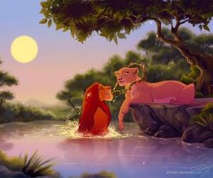 animals, beautiful, and couple image