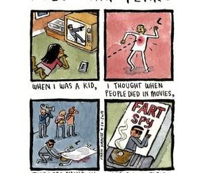 art, childhood, and comics image