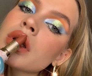 aesthetic, eyeliner, and eyeshadow image