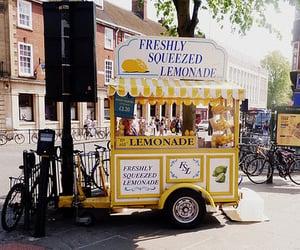 cart, lemonade, and summer image