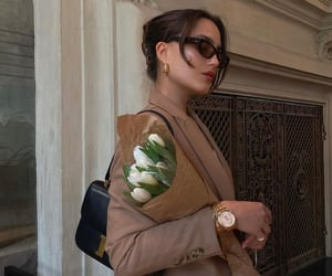 blazer, brown, and chic image