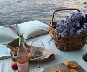 bread, FRUiTS, and lake image